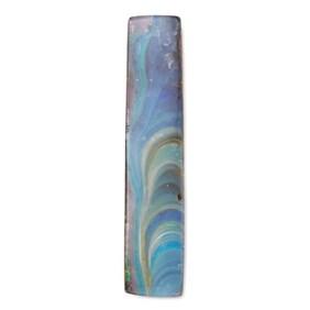 Freeform Australian Boulder Opal, Approx 29x6mm
