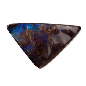 Freeform Australian Boulder Opal, Approx 35x20mm