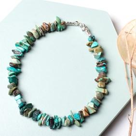 Turquoise Chip Bead Bracelet