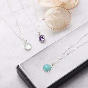 gemstone necklace bundle