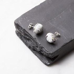 Dendrite Opal Earstuds