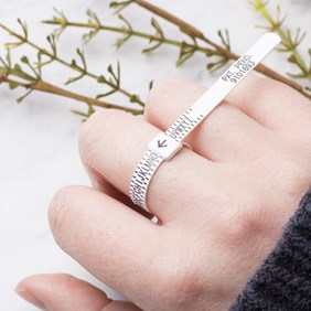 Multisizer Ring Sizing Gauge, Pack of 10