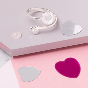 Valentine Rose Quartz Ring Kit