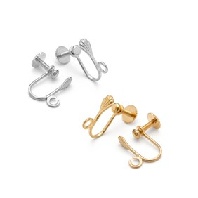 Plated Ear Screws with Loop (Pair)