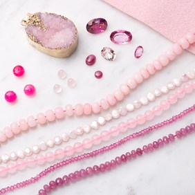 Pink Gemstone Collection: The Colour Of Joy