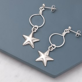 Star & Hoop Earrings