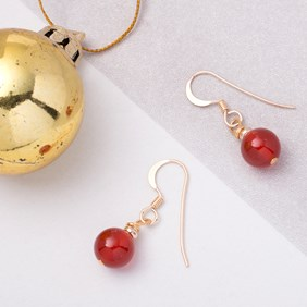 Christmas Bauble Earrings