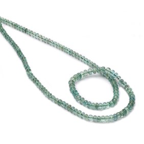 Emerald Rondelle Beads, Approx 2x1.5mm to 4.5x3mm