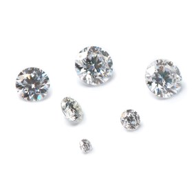 Moissanite Faceted Stones