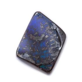 Freeform Australian Boulder Opal, Approx 13.5x11mm