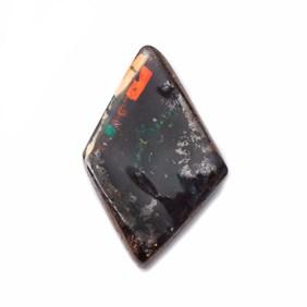 Freeform Australian Boulder Opal, Approx  15.5x10mm