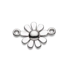 Sterling Silver Daisy Connector Link