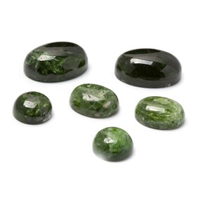 Chrome Diopside Cabochons