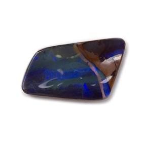 Freeform Australian Boulder Opal, Approx 22.5x12mm