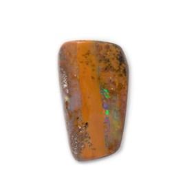 Freeform Australian Boulder Opal, Approx 15x8.5mm