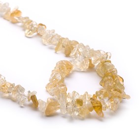 Citrine Chip Beads