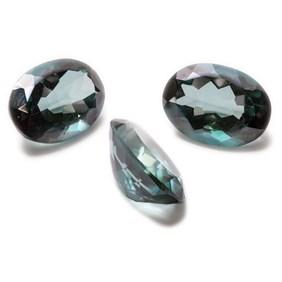 Sea Green Quartz Faceted Stones