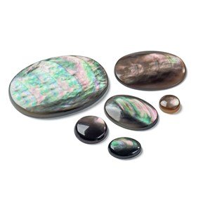 Black Lip Pearl Cabochons