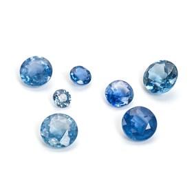 Cornflower Blue Sapphire Faceted Stones