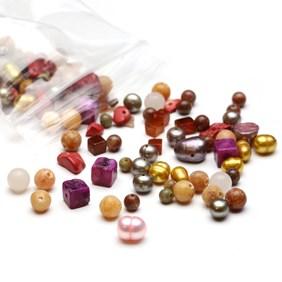 'Sunset' Gemstone Bead Pack - 25 grams