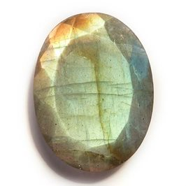Labradorite Oval Faceted Stone 23x17.2mm