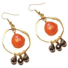 Gypsy Style Hoop Earrings