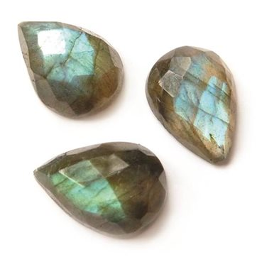4698 Faceted Top Teardrop Cabochons