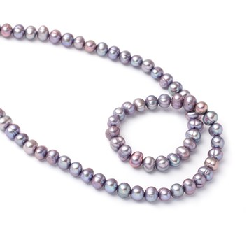Cultured Freshwater Lilac Potato Pearls