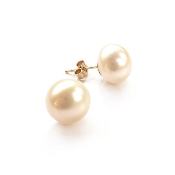 how to make pearl stud earrings