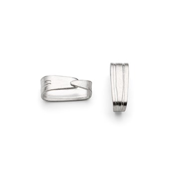 Silver Plated Spring Bail
