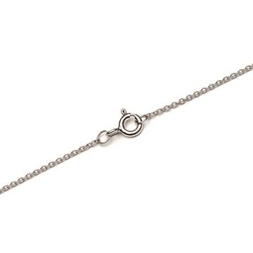 sterling silver fine trace chain