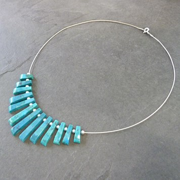 Tapered Turquoise Necklace