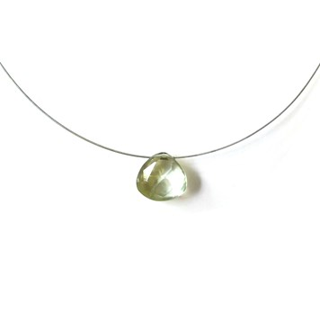 make your own gemstone briolette necklace no1
