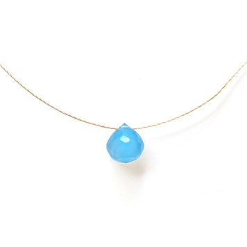 make your own gemstone briolette necklace no4