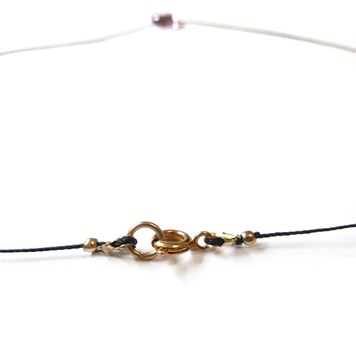 make your own gemstone briolette necklace no3
