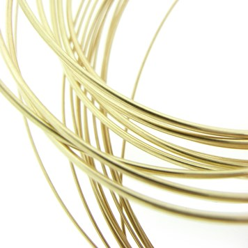 Brass wire for jewellery making