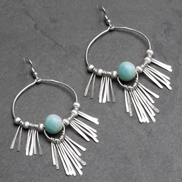 boho earring tutorial