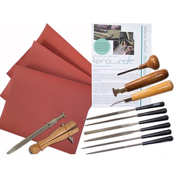 Gemstone SettingTool Kit From Kernowcraft