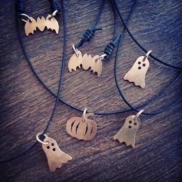 Nibinabe Studio - spooky pendants