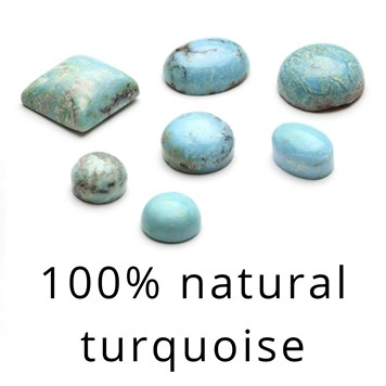 100% Natural Untreated Turquoise