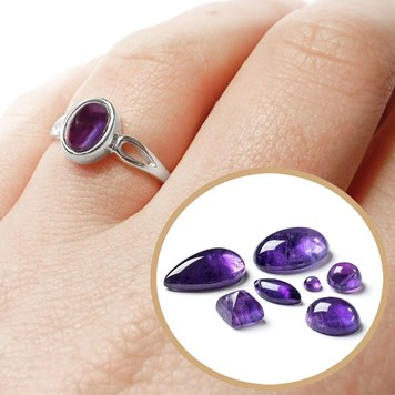 amethyst ring colour of the year