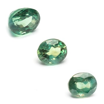 alexandrite faceted gemstones