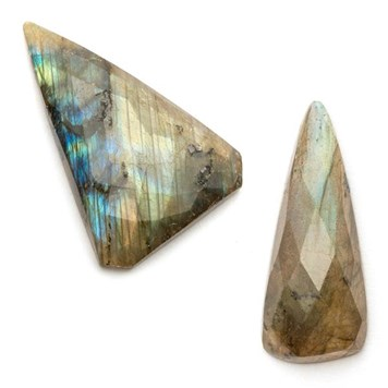 labradorite faceted gemstones