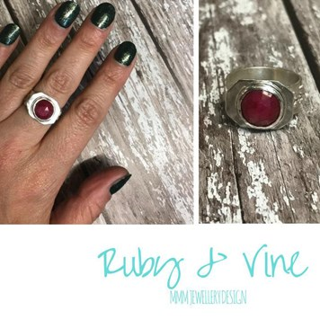 ruby gemstone jewellery designs