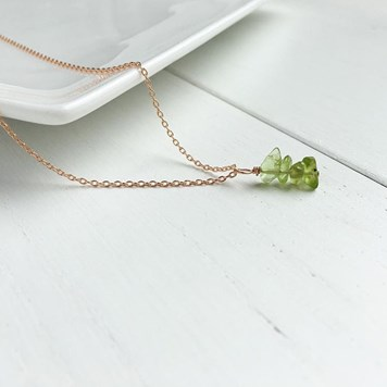 peridot rough beads