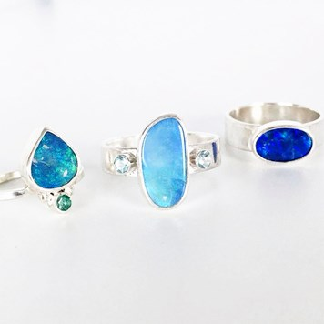 opal gemstone jewellery designs