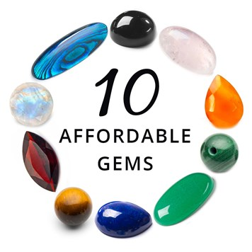affordable gemstones