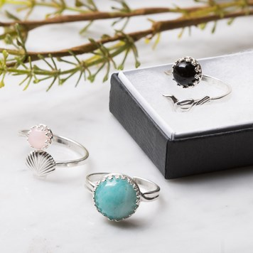 gemstone ring bundle