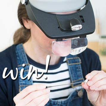 win headband magnifier