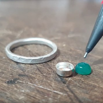 Making A Ring With A Bezel Cup